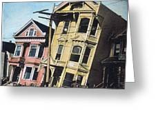San Francisco Earthquake Greeting Card