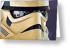 Star Wars Heroes Art Greeting Card