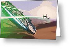 Star Wars Old Art Greeting Card