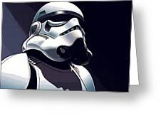 Star Wars The Trilogy Poster Greeting Card