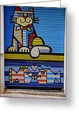 Street Art In Palma Majorca Spain Greeting Card