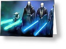 The Star Wars Poster Greeting Card
