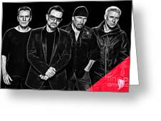 U2 Collection Greeting Card