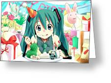 Vocaloid Greeting Card
