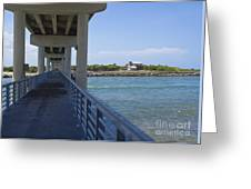 Sebastian Inlet State Park In Florida Greeting Card