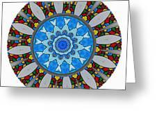 801-04-2015 Talisman Greeting Card