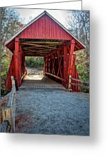 8350- Campbell's Covered Bridge Greeting Card