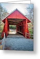 8351- Campbell's Covered Bridge Greeting Card