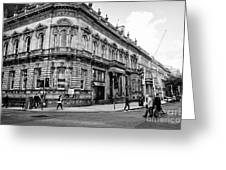 85 89 Colmore Row Former Union Gentlemans Club Birmingham Uk Greeting Card