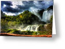 Nature Oil Painting Landscape Greeting Card