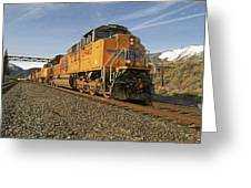 8940 Eastbound Greeting Card