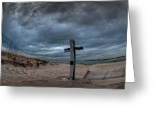 9/11 Memorial In Breezy Point New York Greeting Card