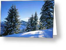 A Landscape Drawing Greeting Card