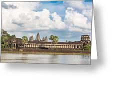 Angkor Wat In Cambodia Greeting Card