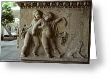 Bacchus God Of Wine Greeting Card