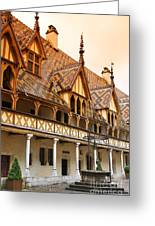 Beaune Greeting Card