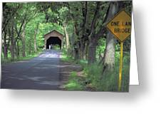 Bridges Of Madison County Greeting Card