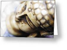 Buddha Sculpture Greeting Card