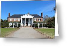 The Main House At Boone Hall Greeting Card