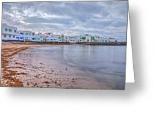 Famara - Lanzarote Greeting Card
