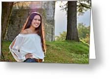 Golden Hour Senior  Greeting Card
