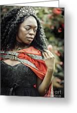 Got Warrior Princess Greeting Card