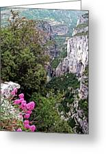 Grand Canyon Du Verdon Greeting Card