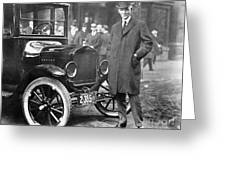 Henry Ford, 1863-1947 Greeting Card