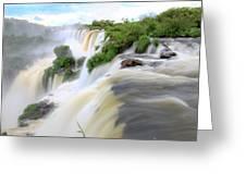 Iguazu Waterfalls Greeting Card