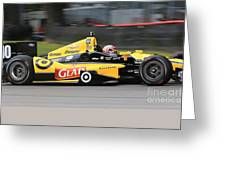 Indycar Performance Greeting Card