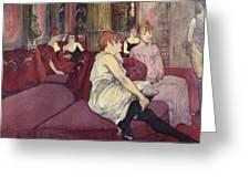 Lautrec  Greeting Card