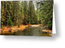 Merced River Yosemite Valley Greeting Card
