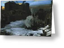 Pennsylvania Station Excavation Greeting Card