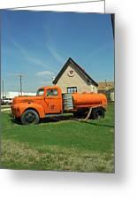 Route 66 - Mclean Texas Greeting Card