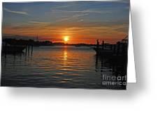 9- Sailfish Marina Greeting Card