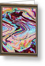 Software Computer Abstract Arts  Greeting Card