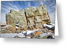 The Big Rock Greeting Card