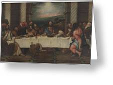 The Last Supper Greeting Card