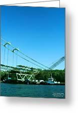 The New Tacoma Narrows Bridge Greeting Card