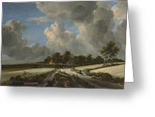Wheat Fields Greeting Card