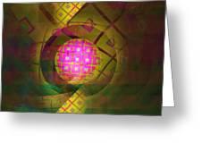 90s Neon Greeting Card