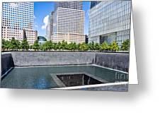 911 Memorial - Panorama Greeting Card