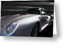 959 Porsche Greeting Card
