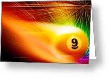 9onfire Greeting Card