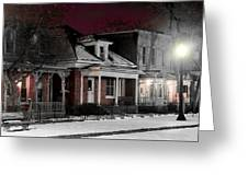9th St. Auraria Greeting Card