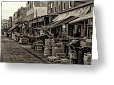 9th Street Italian Market - Philadelphia Pennsylvania Greeting Card
