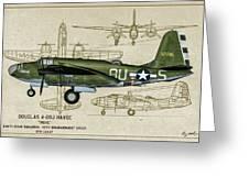 A-20 Havoc - Irene Greeting Card