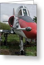 A - 4 Skyhawk - 3 Greeting Card