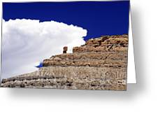 A Balanced Rock Greeting Card