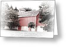 A Barn In The City Greeting Card